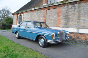 1972 Mercedes-Benz 280 SE 3.5 Saloon 22 Feb 2020