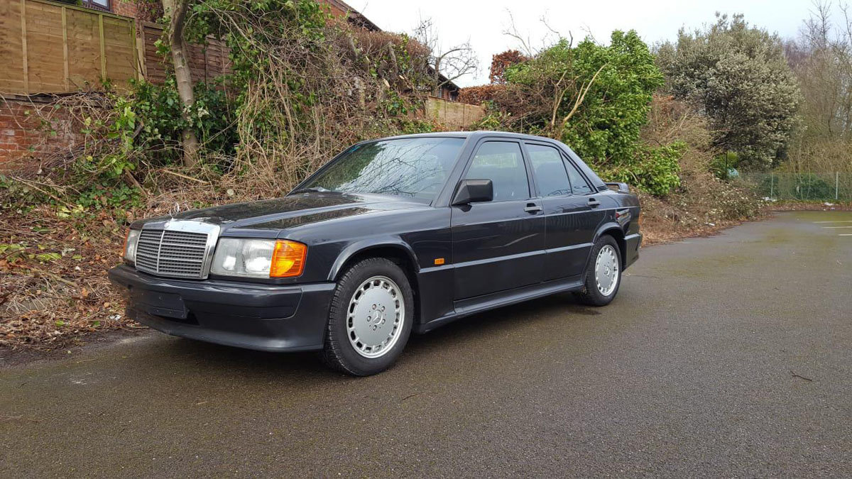 1987 Mercedes-Benz 190E 2.3-16V Cosworth 22 Feb 2020 For Sale by Auction (picture 1 of 4)