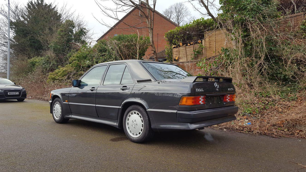 1987 Mercedes-Benz 190E 2.3-16V Cosworth 22 Feb 2020 For Sale by Auction (picture 2 of 4)
