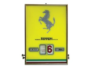 Ferrari Perpetual Calendar, ca. 1950s For Sale by Auction