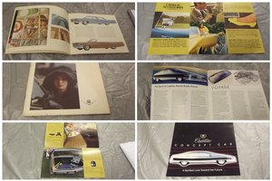0000 CADILLAC BROCHURES AND MEMOROBILIA FOR SALE For Sale