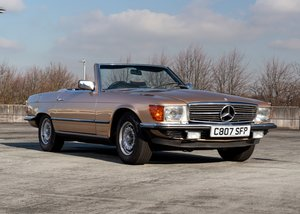 1985 Mercedes-Benz 380SL Roadster SOLD by Auction