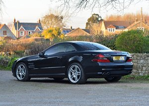 2002 Mercedes-Benz SL 55 AMG Roadster