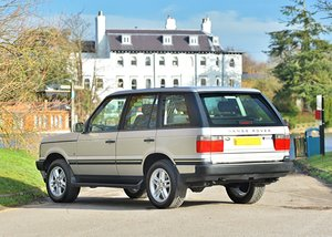 2001 Range Rover Vogue (4.6 litre) For Sale by Auction