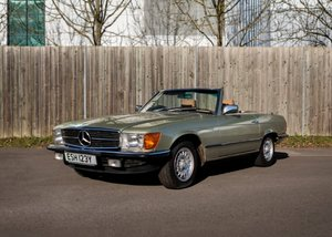 1982 Mercedes-Benz 280SL Roadster For Sale by Auction