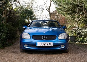 2002 Mercedes-Benz SLK 200 Kompressor For Sale by Auction