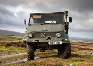 1986 Mercedes-Benz Unimog U1100 For Sale by Auction