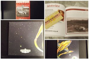 0000 GOODWOOD MEMOROBILIA PROGRAMME AND PICTURE For Sale