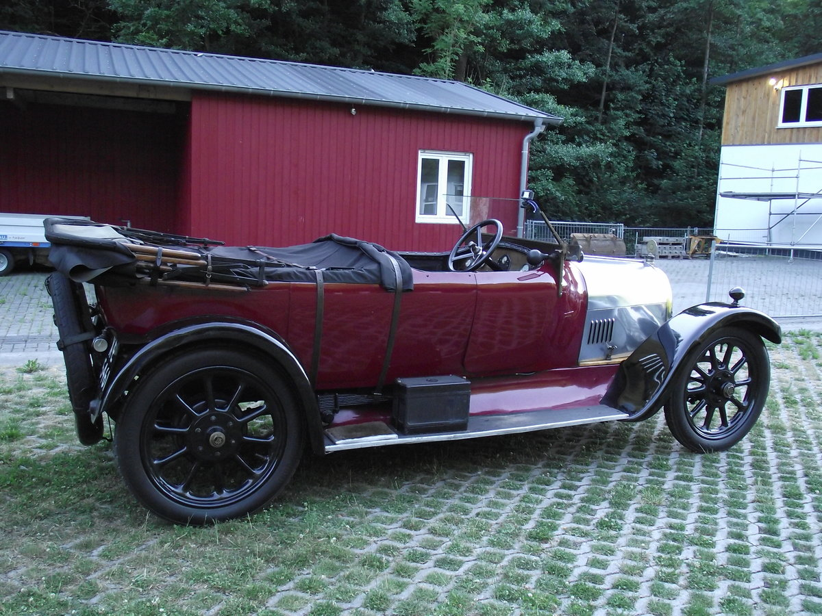 1920 Angus Sanderson 14 HP For Sale (picture 1 of 6)
