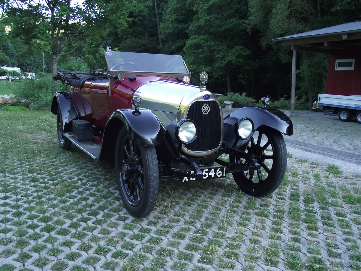 1920 Angus Sanderson 14 HP For Sale (picture 5 of 6)