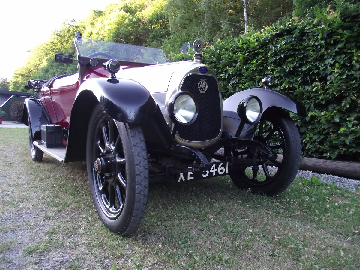 1920 Angus Sanderson 14 HP For Sale (picture 2 of 6)