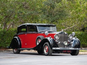 1937 Rolls-Royce Phantom III Saloon by Freestone & Webb