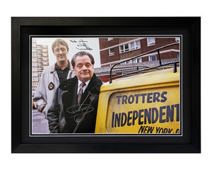 0000 Only Fools and Horses TV Publicity Poster (Signed) For Sale