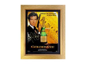 0000 Pierce Brosnan as James Bond 'Goldeneye' Bollinger Advertisi For Sale by Auction