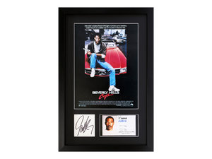 0000 Beverly Hills Cop / Eddie Murphy Autograph Presentation For Sale by Auction