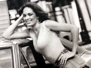 0000 Catherine Bach as 'Daisy Duke' Exhibition Board (Signed) For Sale by Auction