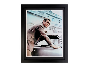 0000 Sean Connery and the Aston Martin DB5 (Signed) For Sale by Auction