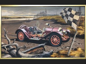 1914 Mercer Raceabout by Melbourne Brindle, ca. 1965