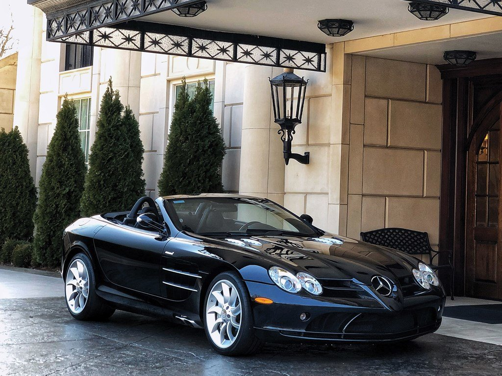 2008 Mercedes-Benz SLR McLaren Roadster  For Sale by Auction (picture 1 of 6)
