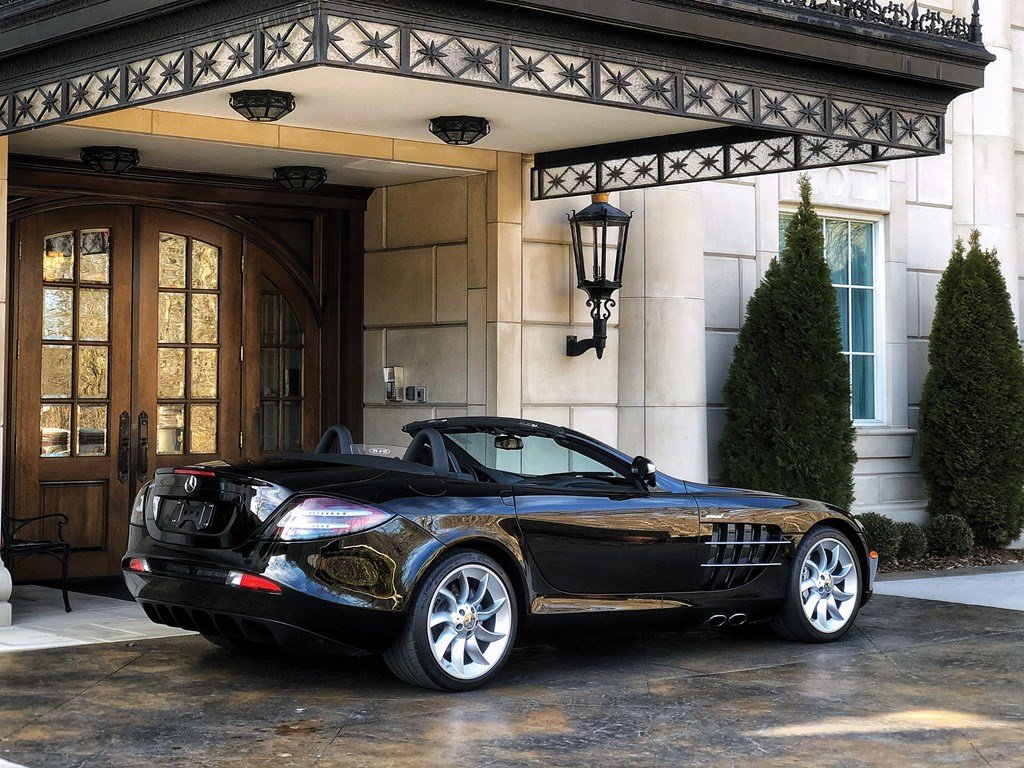 2008 Mercedes-Benz SLR McLaren Roadster  For Sale by Auction (picture 2 of 6)