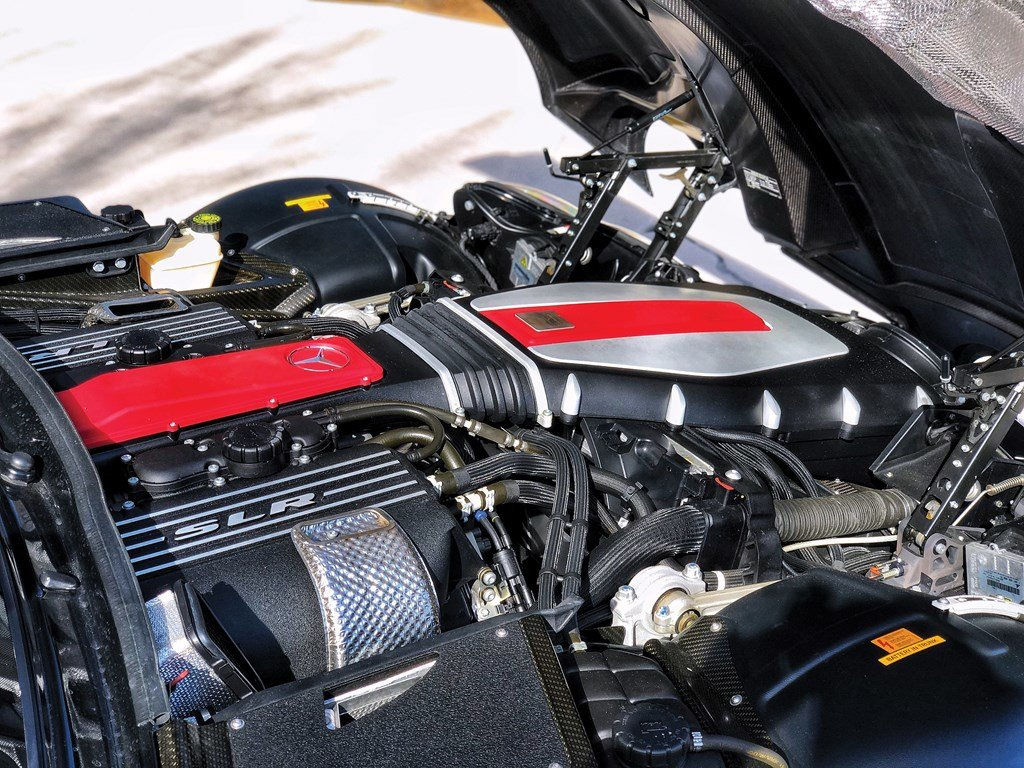 2008 Mercedes-Benz SLR McLaren Roadster  For Sale by Auction (picture 3 of 6)