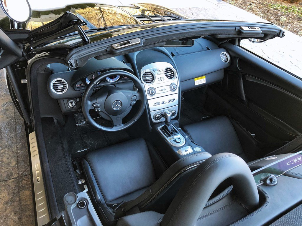 2008 Mercedes-Benz SLR McLaren Roadster  For Sale by Auction (picture 4 of 6)