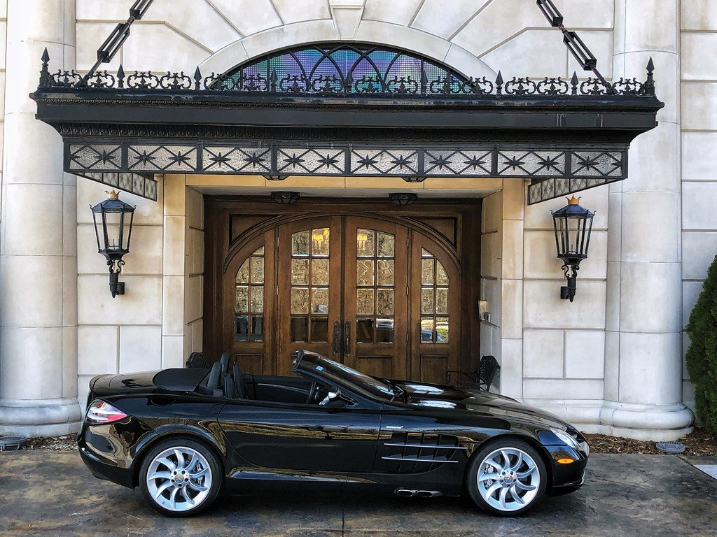 2008 Mercedes-Benz SLR McLaren Roadster  For Sale by Auction (picture 5 of 6)