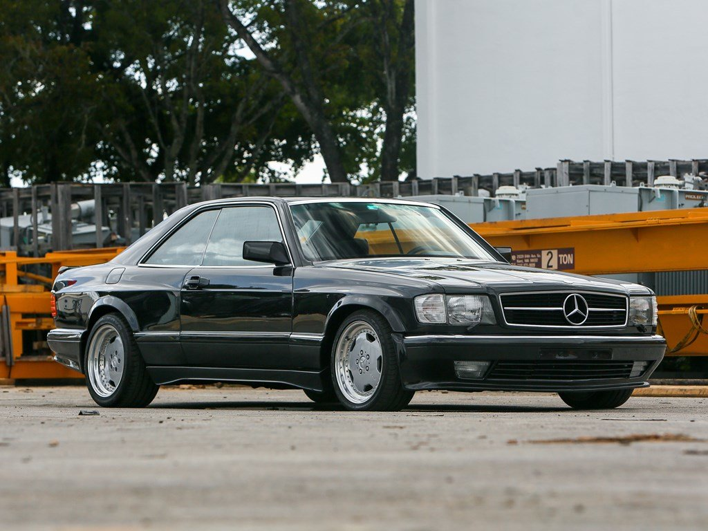 1990 Mercedes-Benz 560 SEC AMG 6.0 Wide-Body  For Sale by Auction (picture 1 of 6)