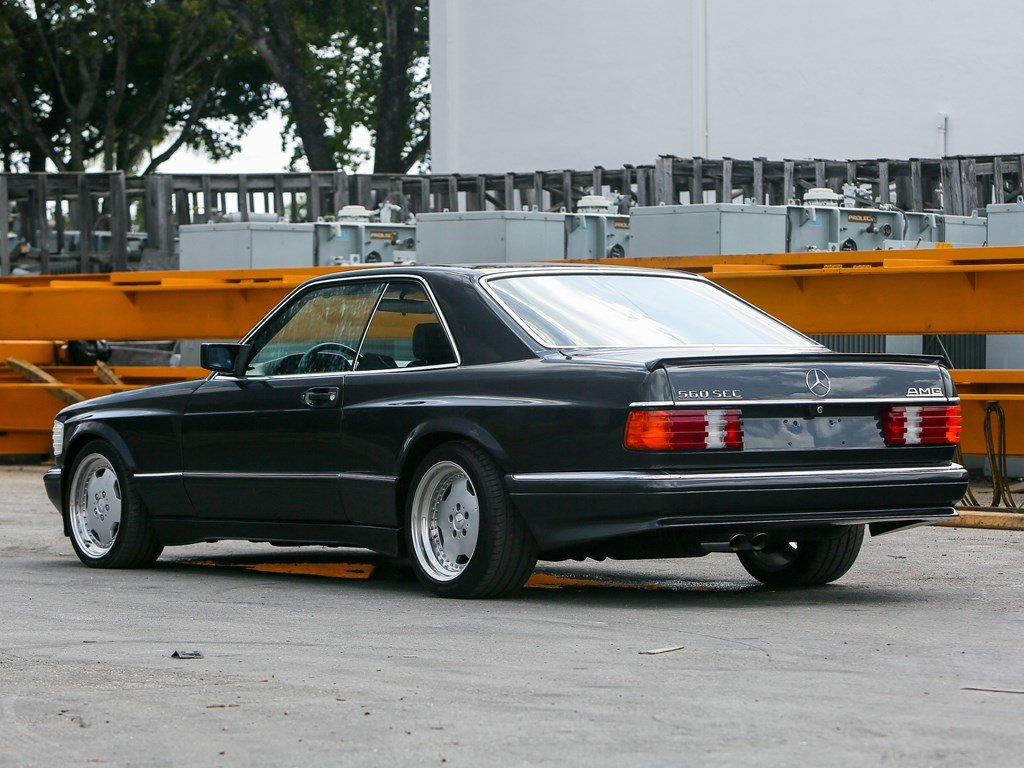 1990 Mercedes-Benz 560 SEC AMG 6.0 Wide-Body  For Sale by Auction (picture 2 of 6)