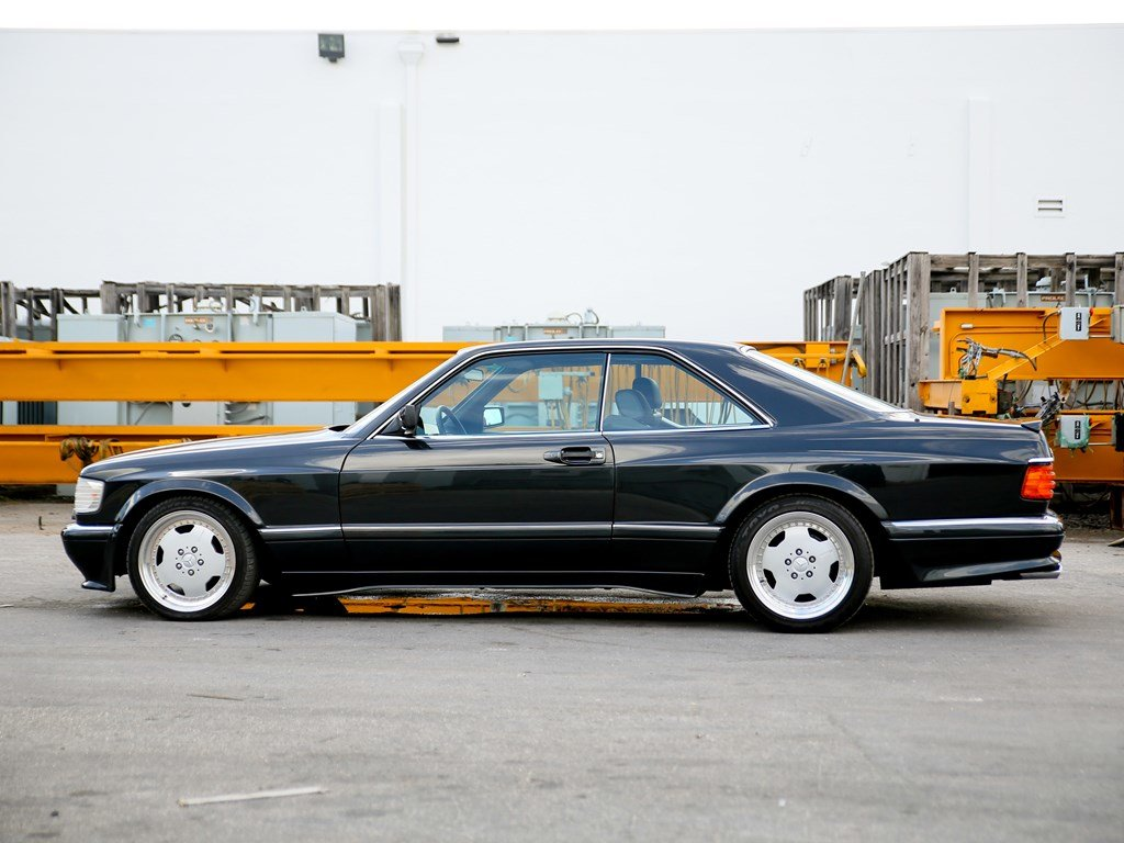 1990 Mercedes-Benz 560 SEC AMG 6.0 Wide-Body  For Sale by Auction (picture 5 of 6)