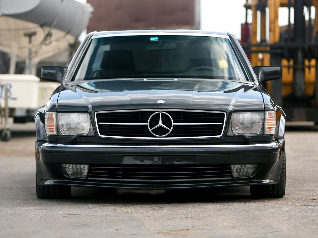 1990 Mercedes-Benz 560 SEC AMG 6.0 Wide-Body  For Sale by Auction (picture 6 of 6)