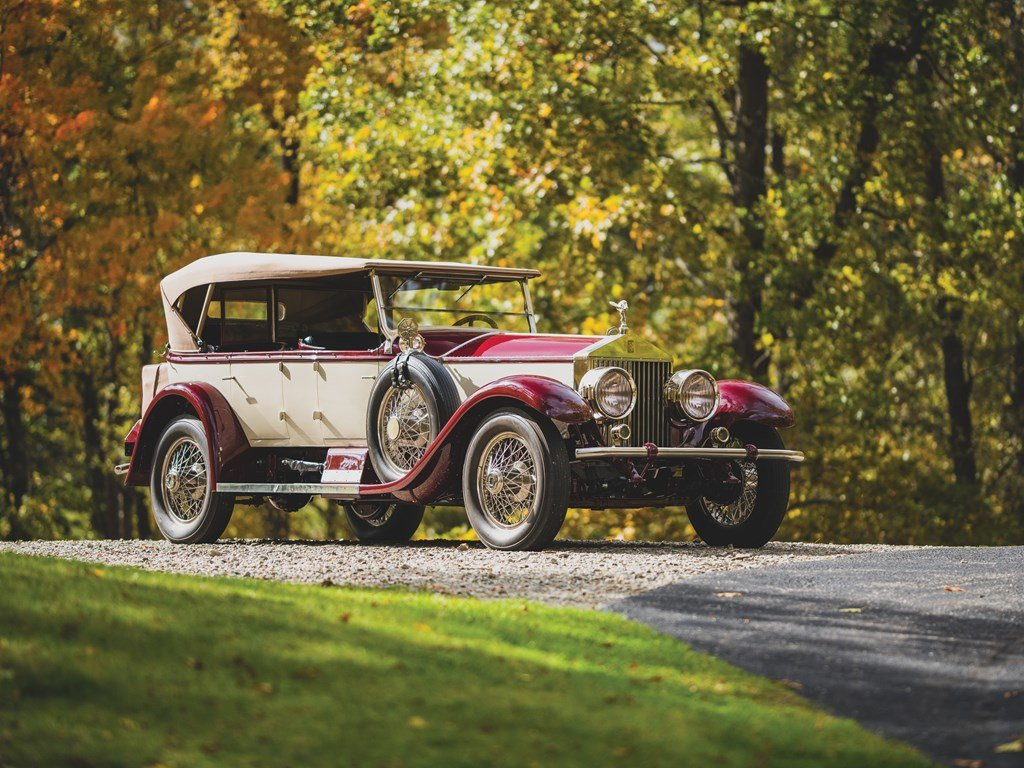 1926 Rolls-Royce Silver Ghost Pall Mall Tourer by Merrimac For Sale by Auction (picture 1 of 6)