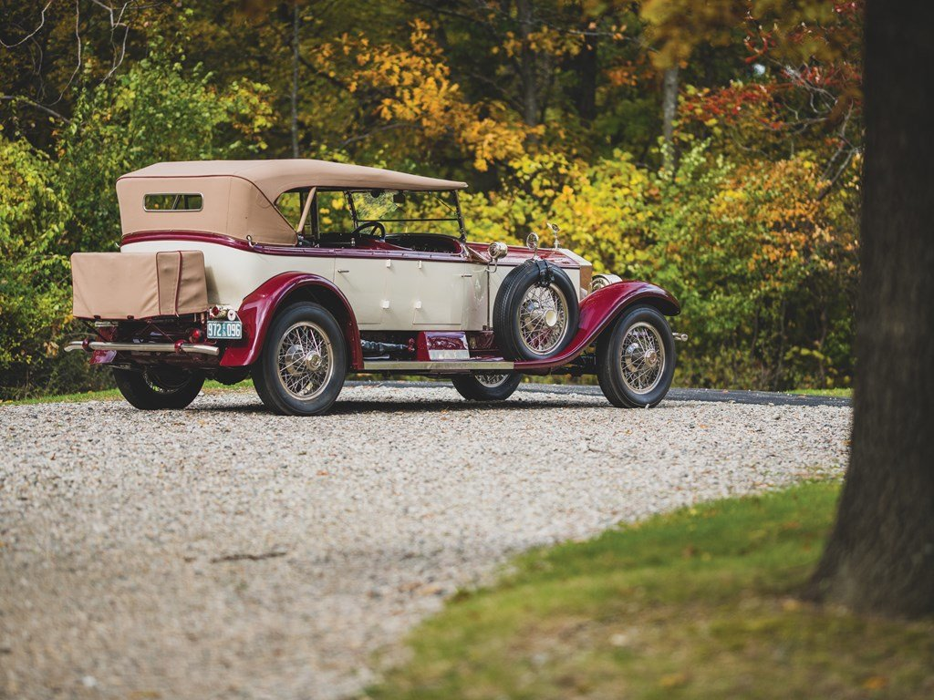 1926 Rolls-Royce Silver Ghost Pall Mall Tourer by Merrimac For Sale by Auction (picture 2 of 6)
