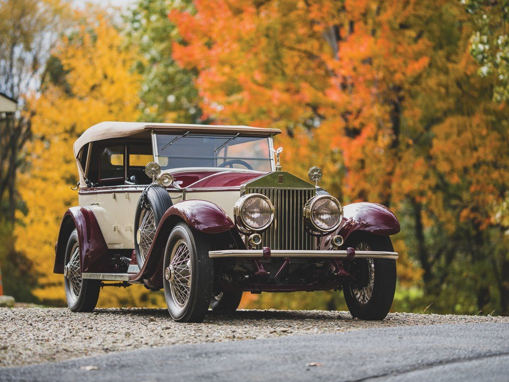 1926 Rolls-Royce Silver Ghost Pall Mall Tourer by Merrimac For Sale by Auction (picture 5 of 6)