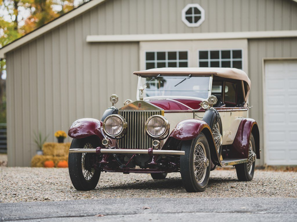 1926 Rolls-Royce Silver Ghost Pall Mall Tourer by Merrimac For Sale by Auction (picture 6 of 6)