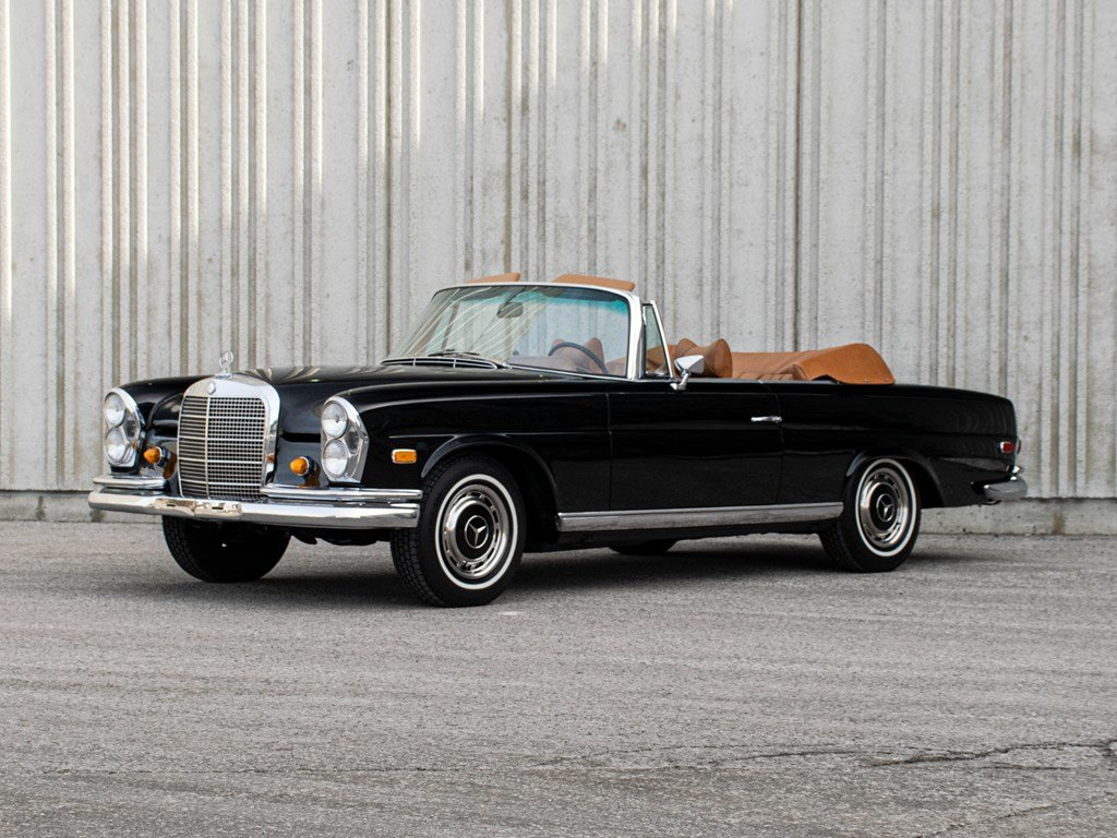 1968 Mercedes-Benz 280 SE Cabriolet  For Sale by Auction (picture 1 of 6)