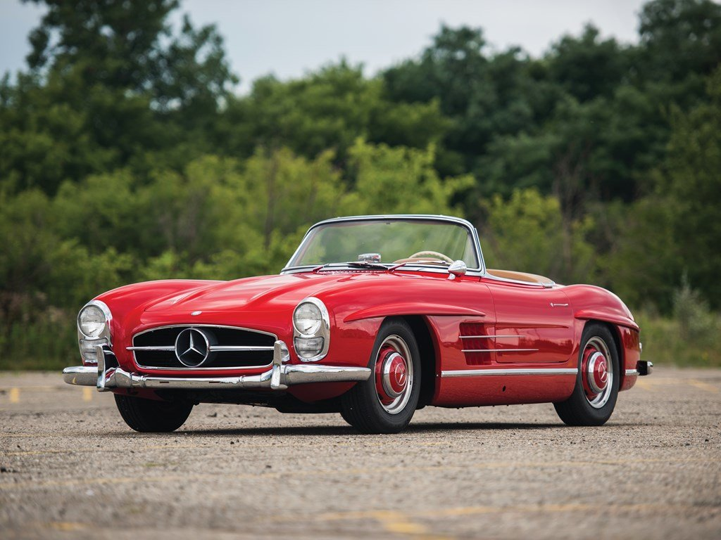 1957 Mercedes-Benz 300 SL Roadster  For Sale by Auction (picture 1 of 6)