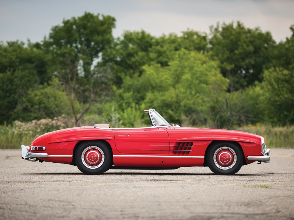 1957 Mercedes-Benz 300 SL Roadster  For Sale by Auction (picture 5 of 6)