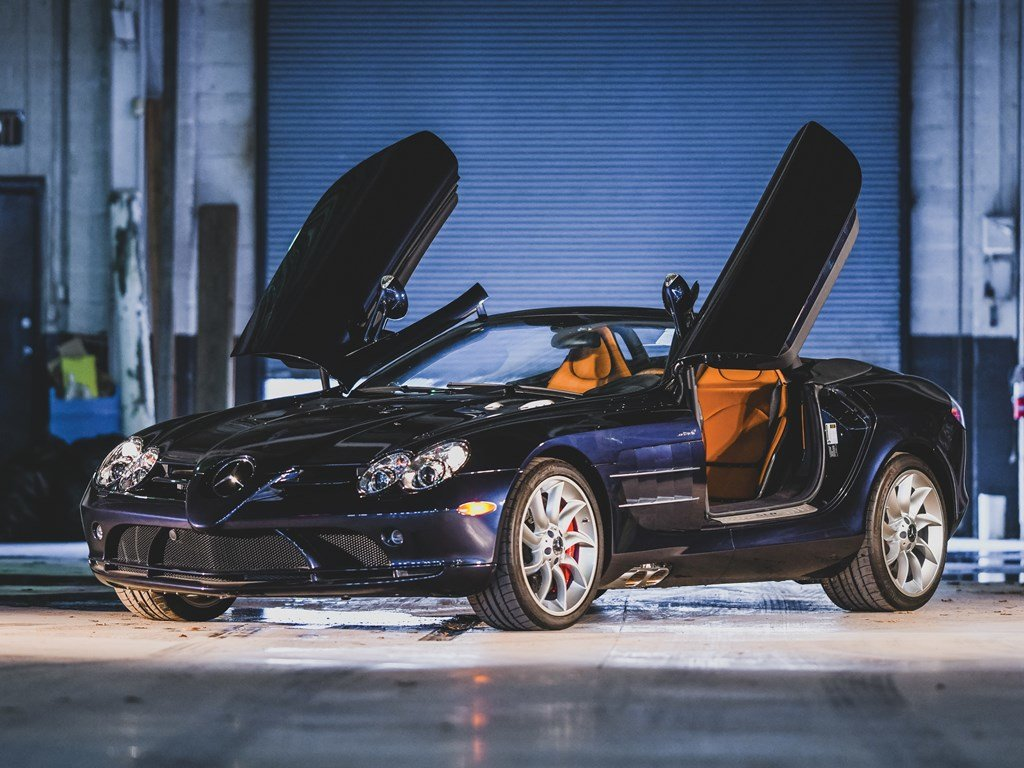 2009 Mercedes-Benz SLR McLaren Roadster  For Sale by Auction (picture 1 of 6)