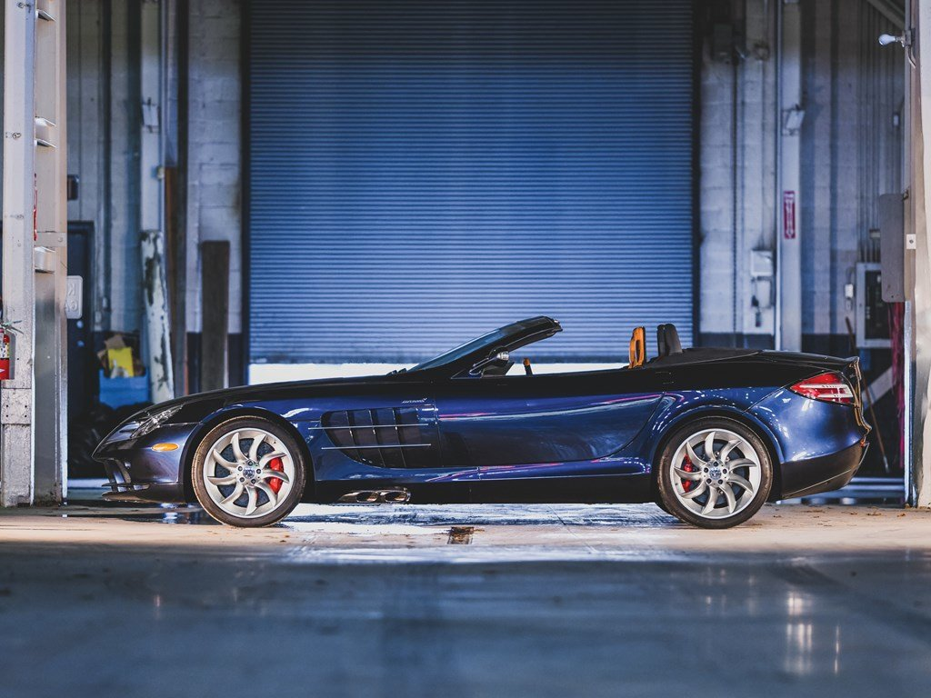 2009 Mercedes-Benz SLR McLaren Roadster  For Sale by Auction (picture 5 of 6)