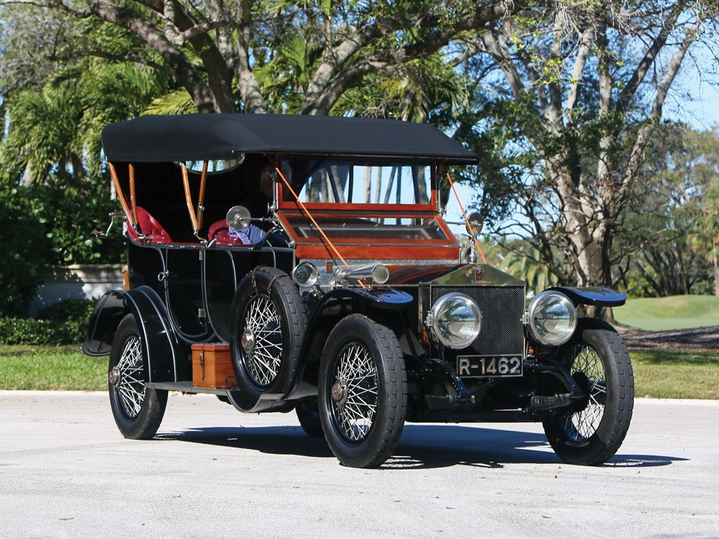 1912 Rolls-Royce Silver Ghost Torpedo Phaeton in the style o For Sale by Auction (picture 1 of 6)