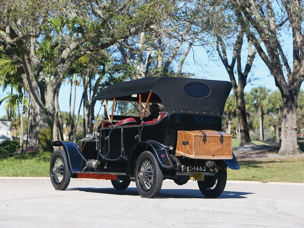 1912 Rolls-Royce Silver Ghost Torpedo Phaeton in the style o For Sale by Auction (picture 2 of 6)