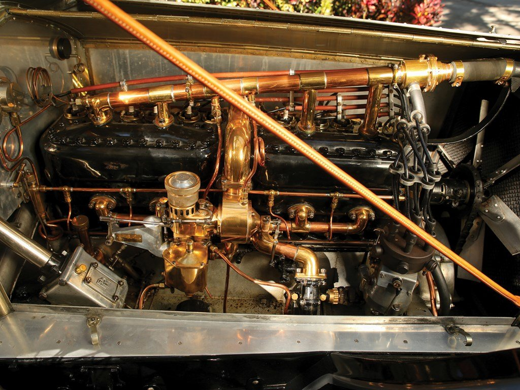 1912 Rolls-Royce Silver Ghost Torpedo Phaeton in the style o For Sale by Auction (picture 3 of 6)