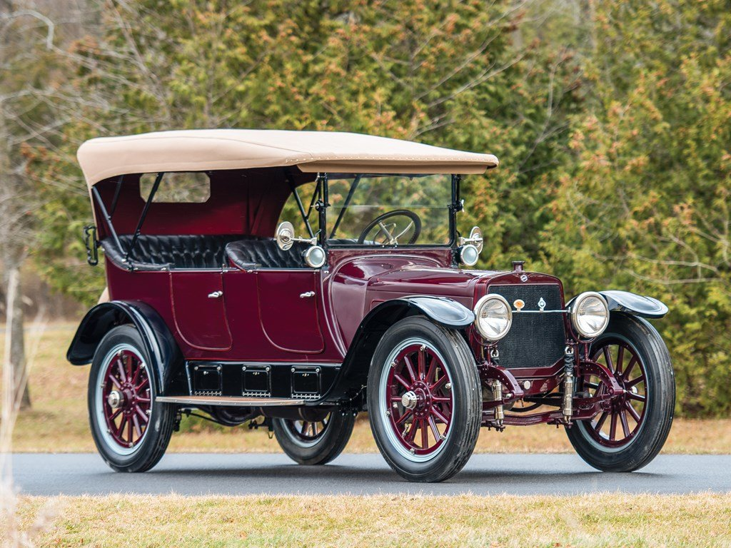 1915 Lozier Type 82 Seven-Passenger Touring  For Sale by Auction (picture 1 of 6)