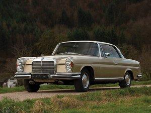 1970 Mercedes-Benz 280 SE Coup