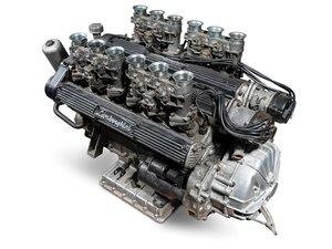 Lamborghini Miura P400 Engine, 1967