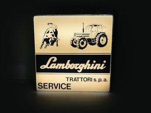 Lamborghini Illuminated Dealership Sign, ca. 1960s