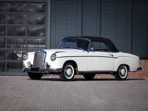 1957 Mercedes-Benz 220 S Cabriolet  For Sale by Auction
