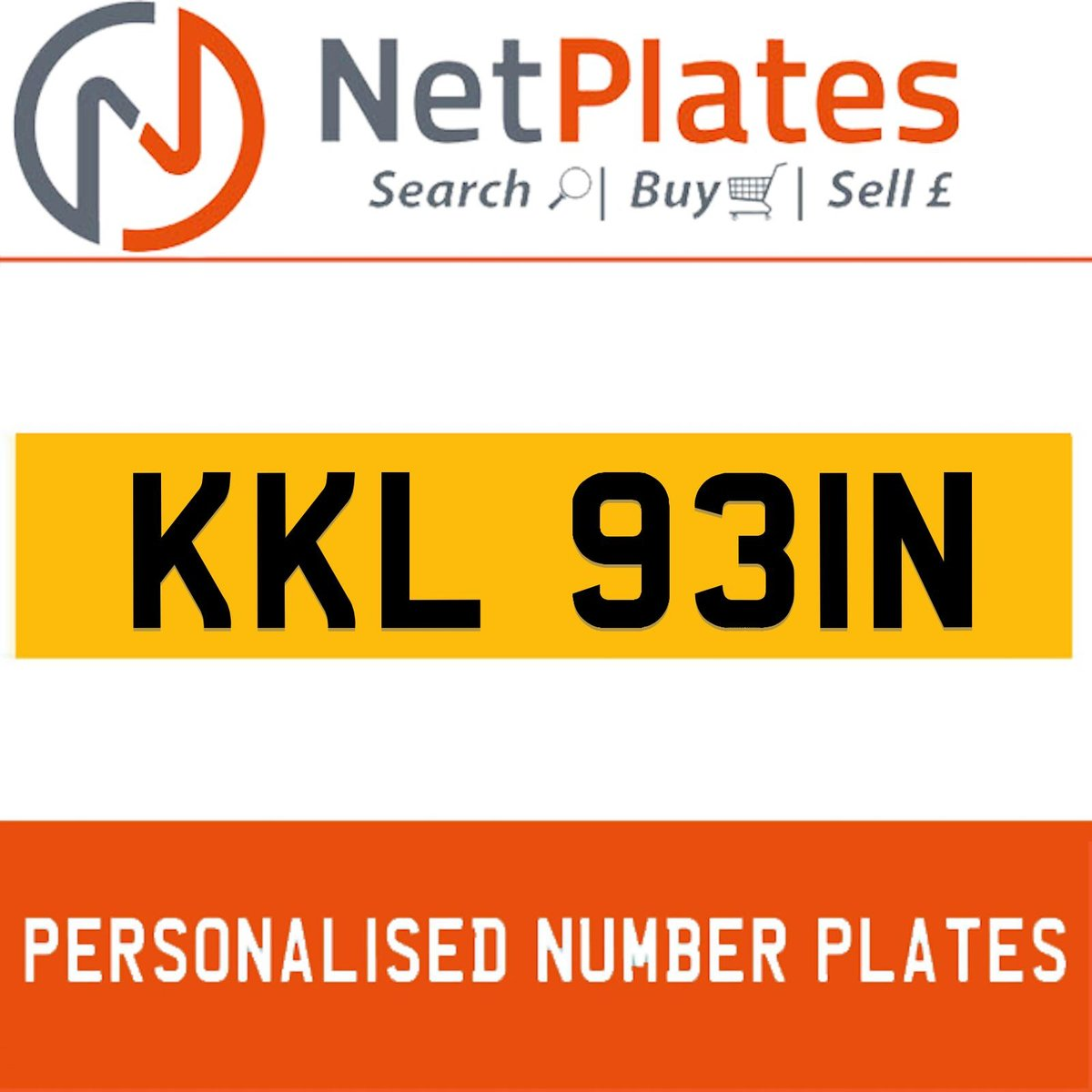 1900 KKL 931N PERSONALISED PRIVATE CHERISHED DVLA NUMBER PLATE For Sale (picture 1 of 5)