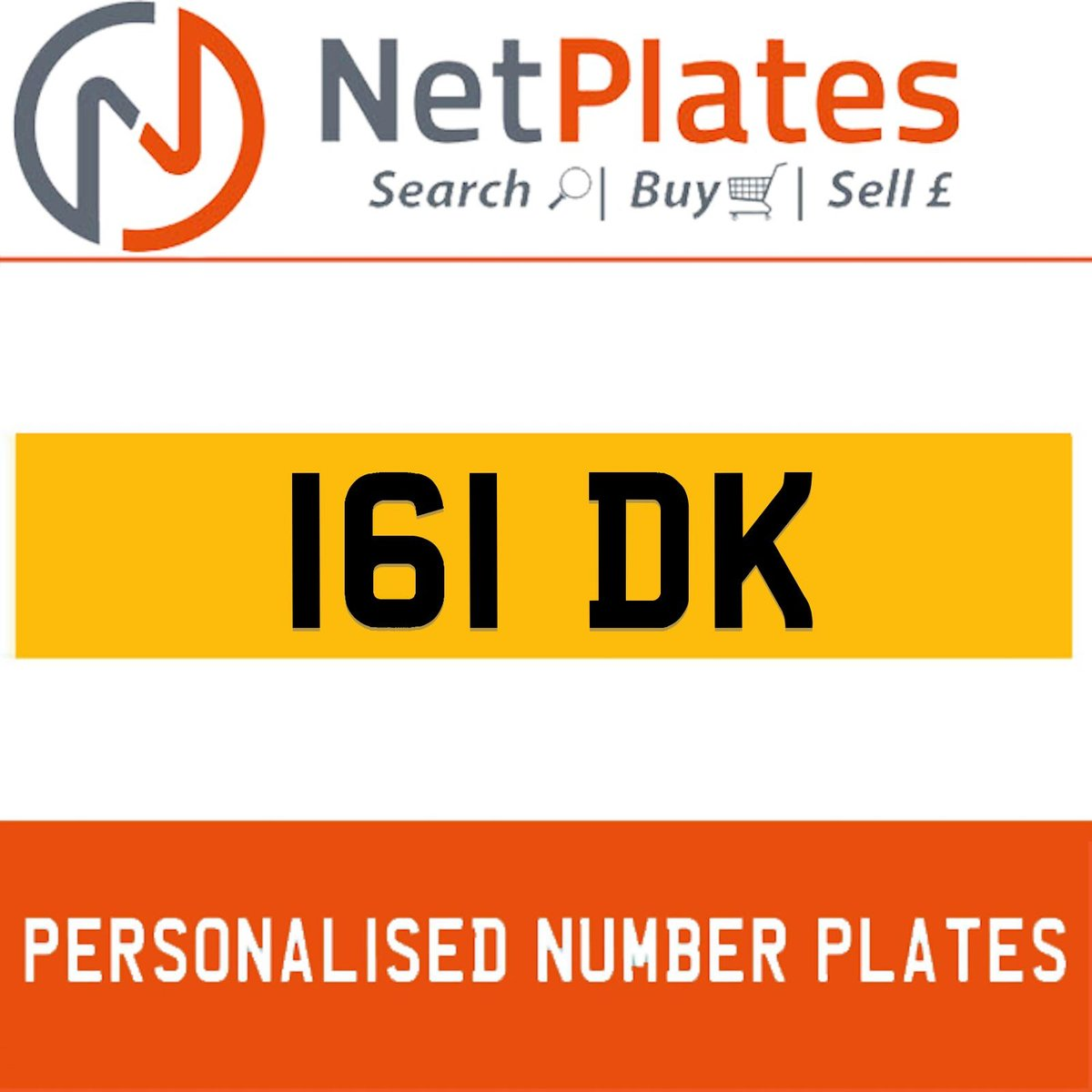 1900 161 DK PERSONALISED PRIVATE CHERISHED DVLA NUMBER PLATE For Sale (picture 1 of 5)